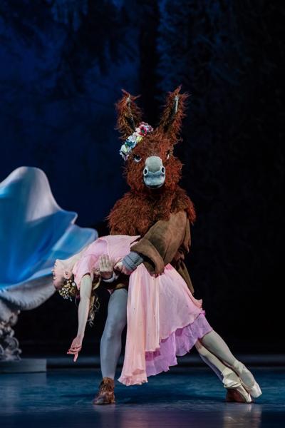 Le Songe d'une nuit d'été Chorégraphie George Balanchine D'après William Shakespeare, Décors  Costumes Christian Lacroix